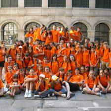 Campamento de idiomas en El Escorial.