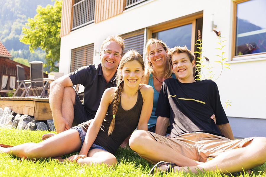 campamento verano alemania familia nativa