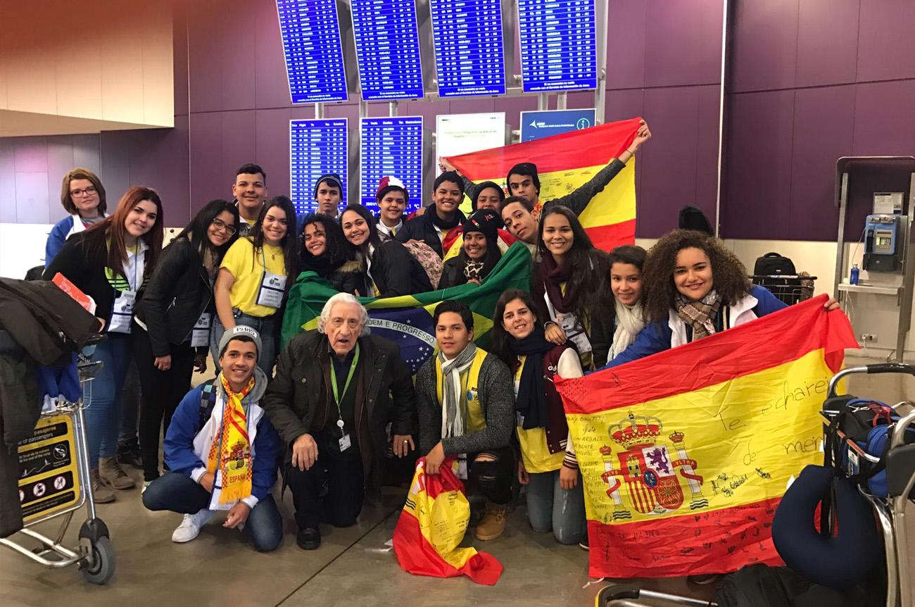 estudiantes extranjeros en casa