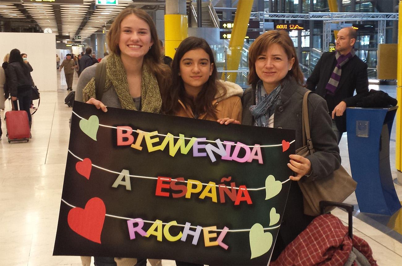 recibimiento estudiante extranjero